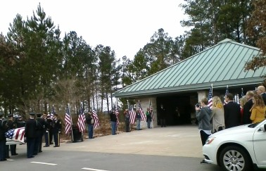 "Military Funeral Honors for Houston ""Phil"" Phelps at Georgia National Cemetery"